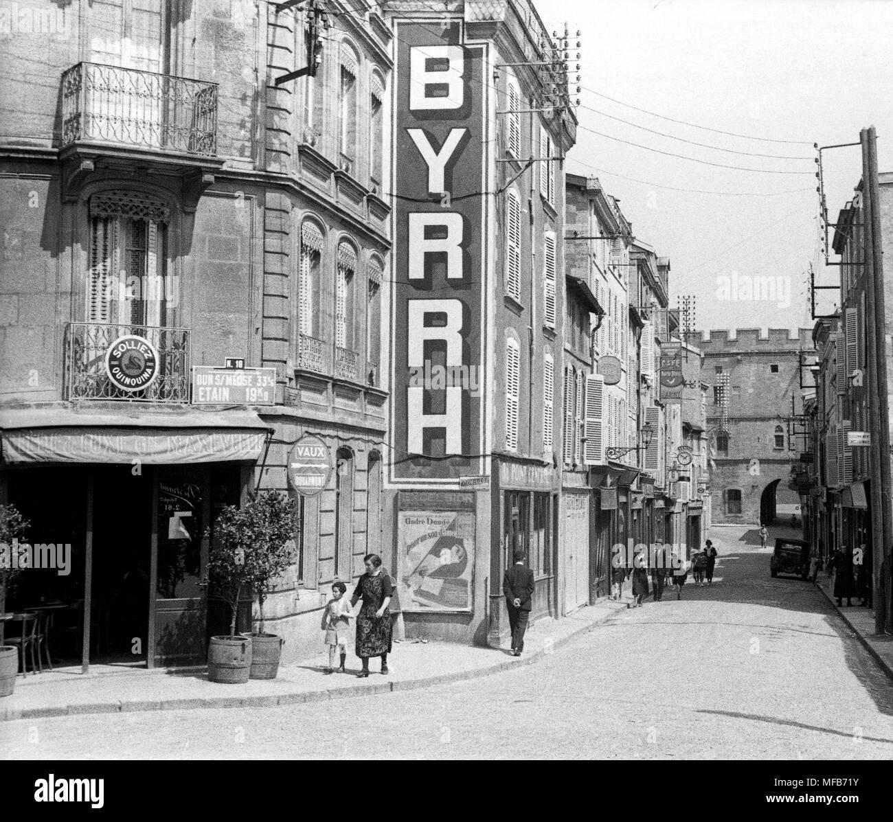 Verdun in France 1934 - Stock Image
