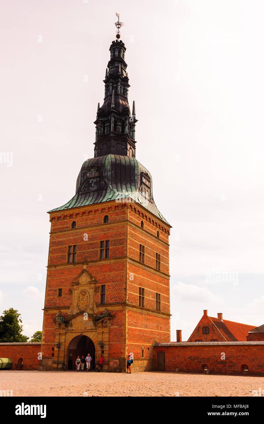 Part of the Frederiksborg Palace - Stock Image