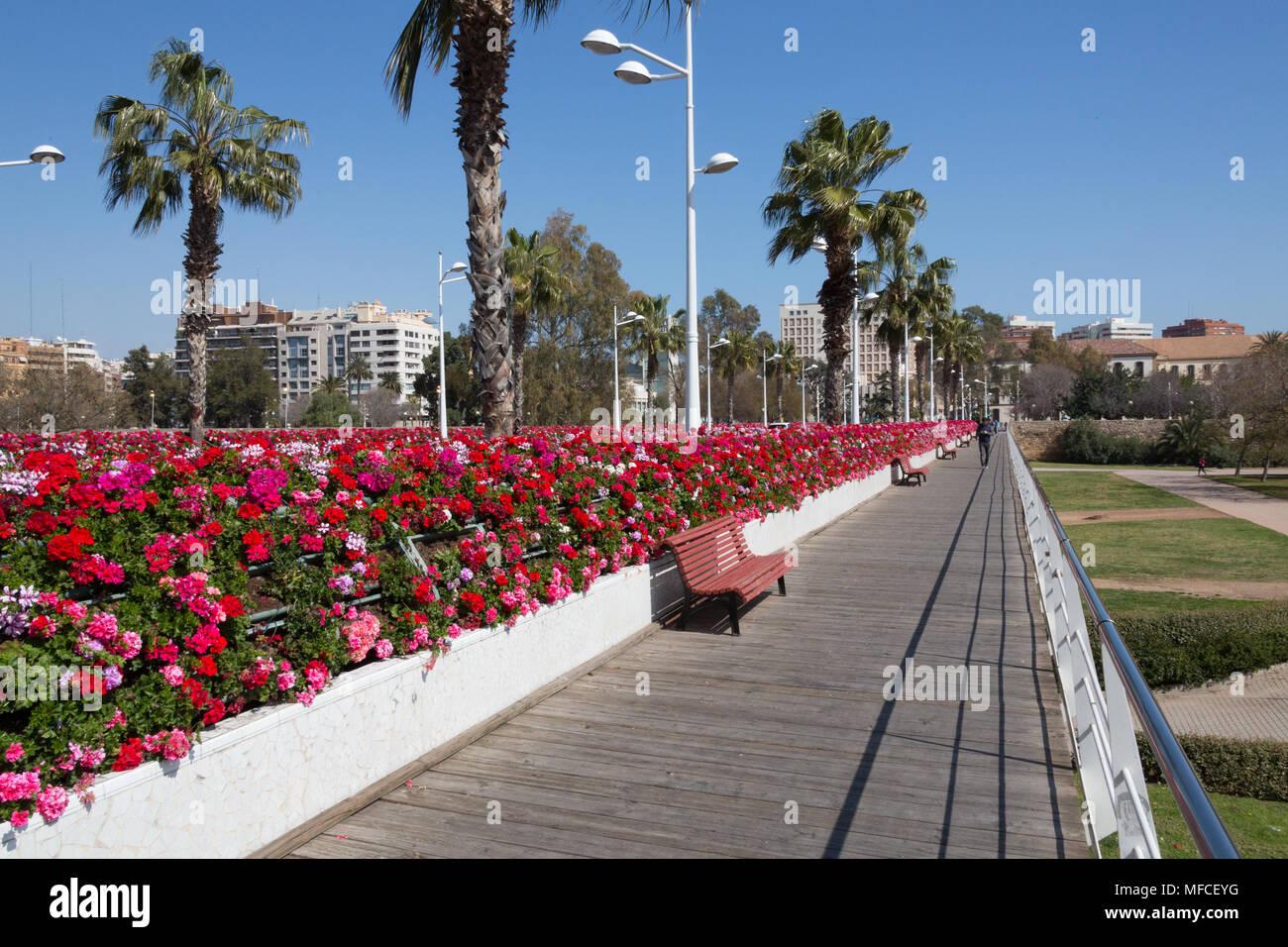 Valencia Calendar.Valencia Spain March 16 2015 The Highlight Of Valencia S