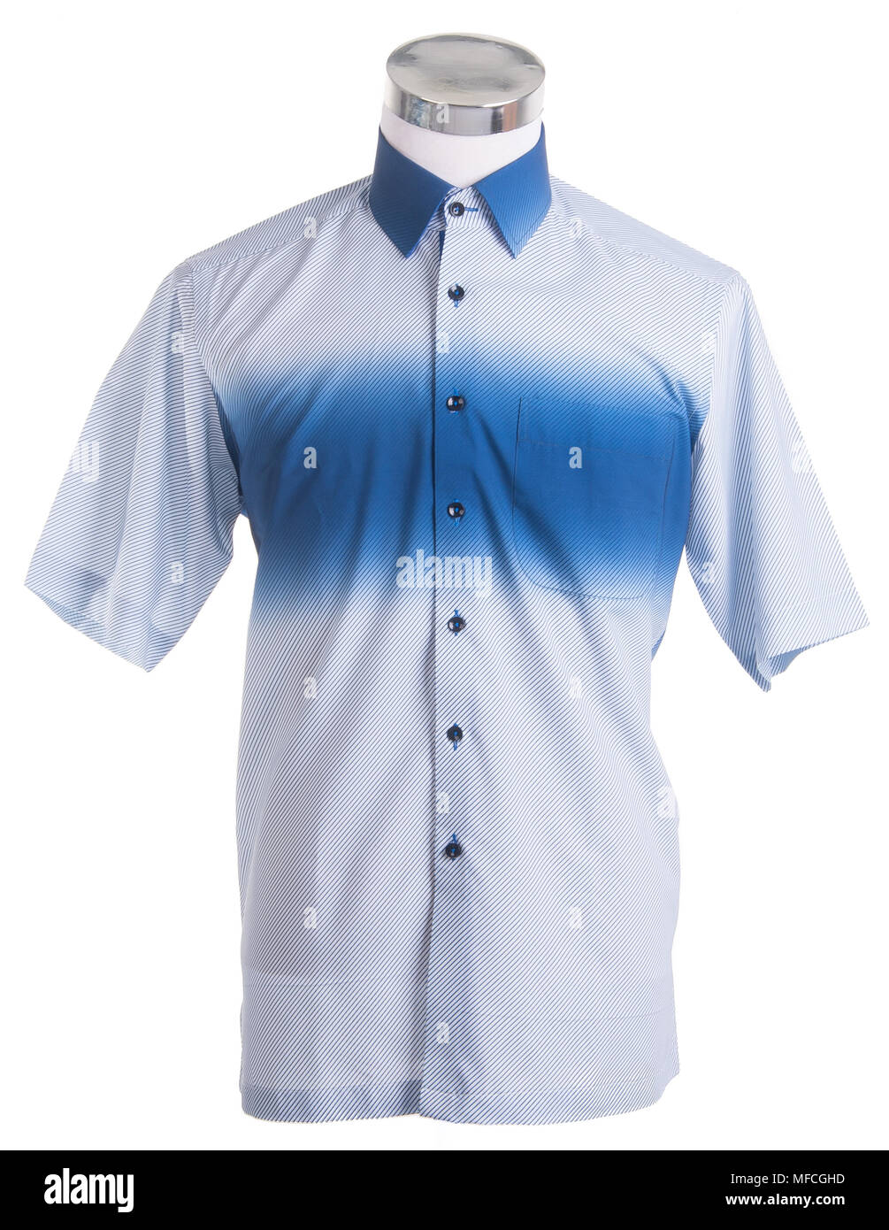 7cca0100c97f shirt. mens mannequin dressed on a background. - Stock Image
