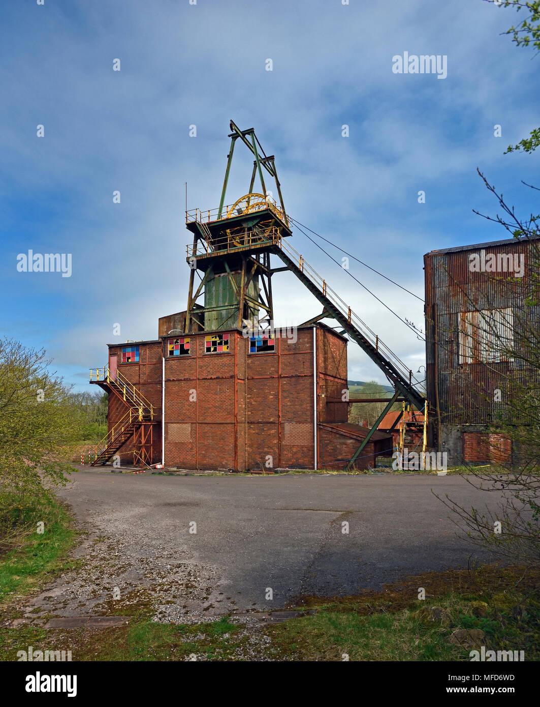 Florence Mine Buildings. Egremont, Cumbria, England, United Kingdom, Europe. - Stock Image