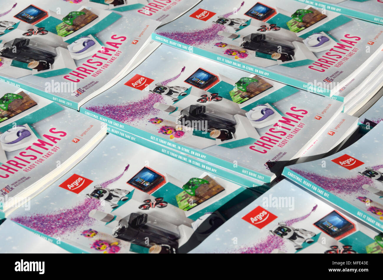 Argos Catalogues Stock Photos & Argos Catalogues Stock