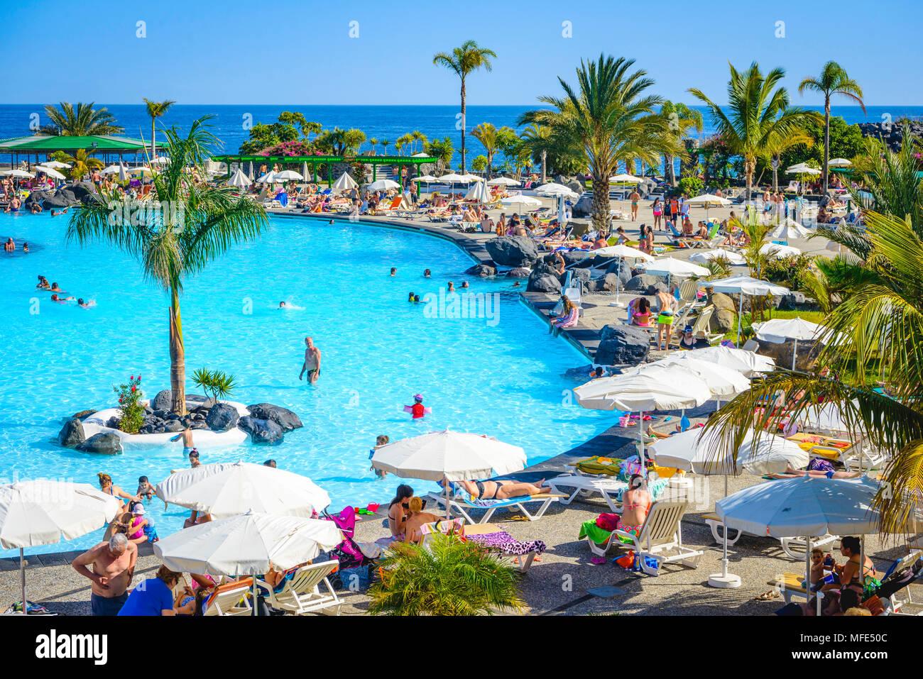 Swimming Pools Parque Maritimo Of Cesar Manrique Santa Cruz De