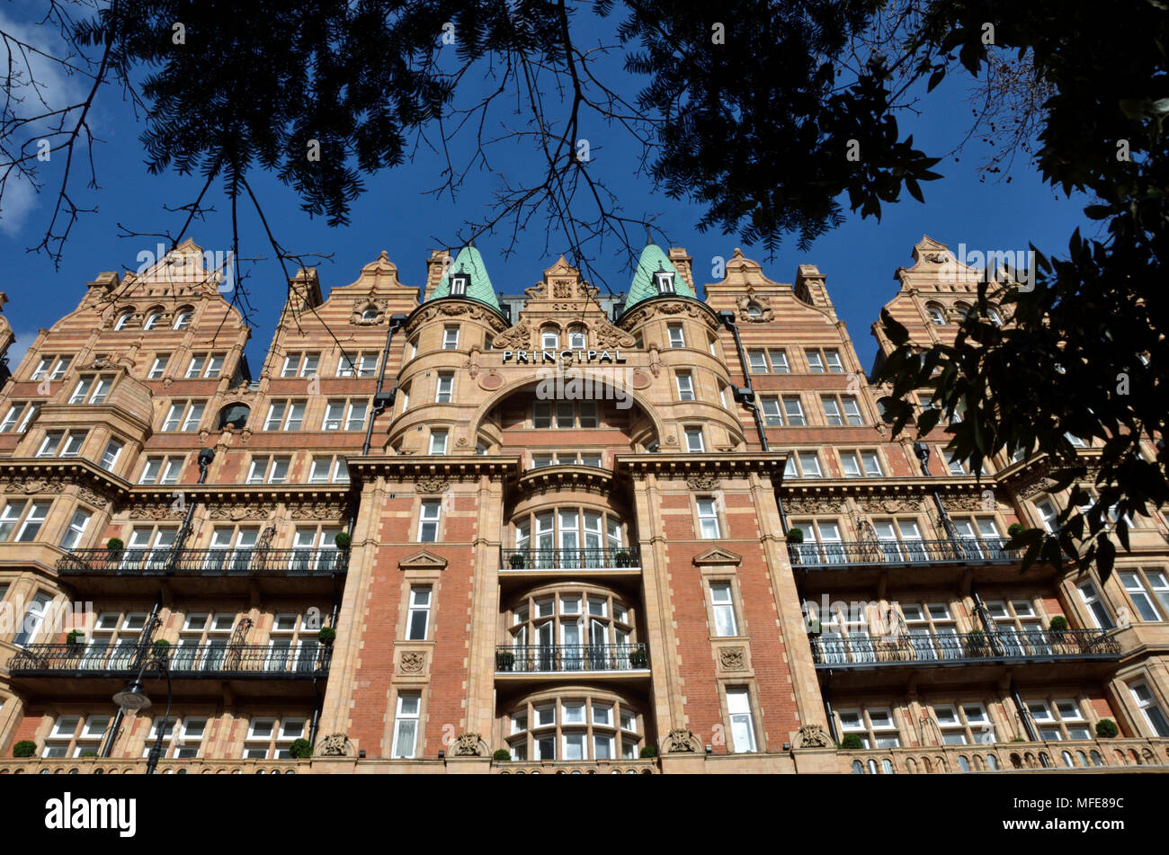 The Principal London Hotel in Russell Square, Bloomsbury, London, UK Stock Photo