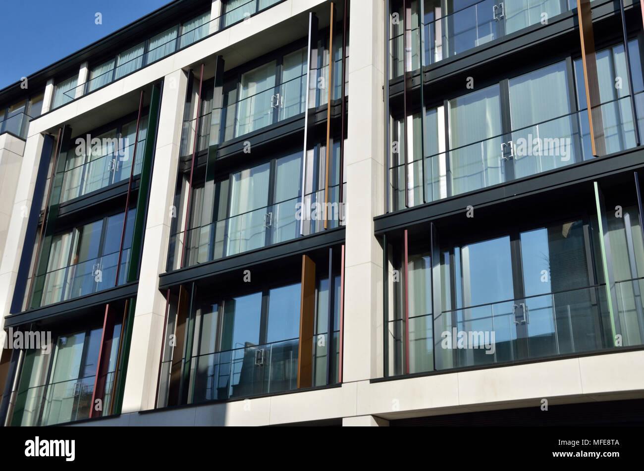 The Chilterns W1 luxury apartments, Marylebone, London, UK. - Stock Image