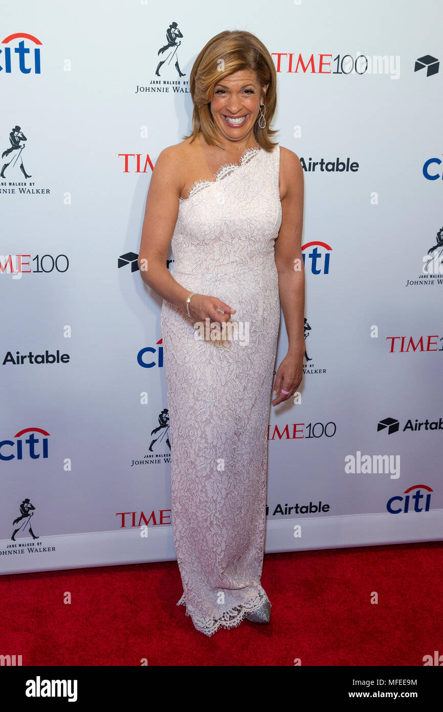 New York United States 24th Apr 2018 Hoda Kotb Attends Time