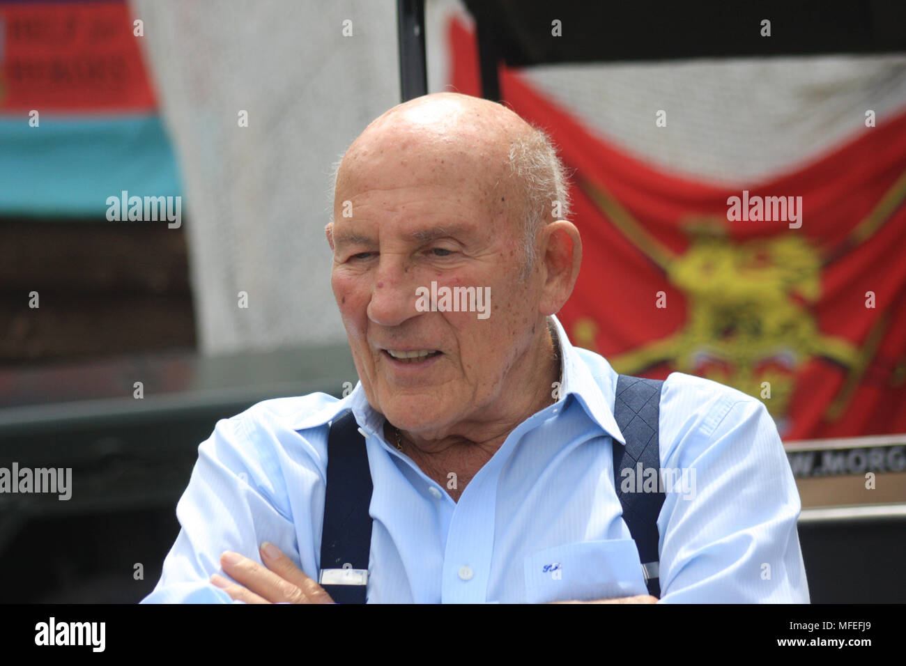 Sir Stirling Moss OBE - Stock Image