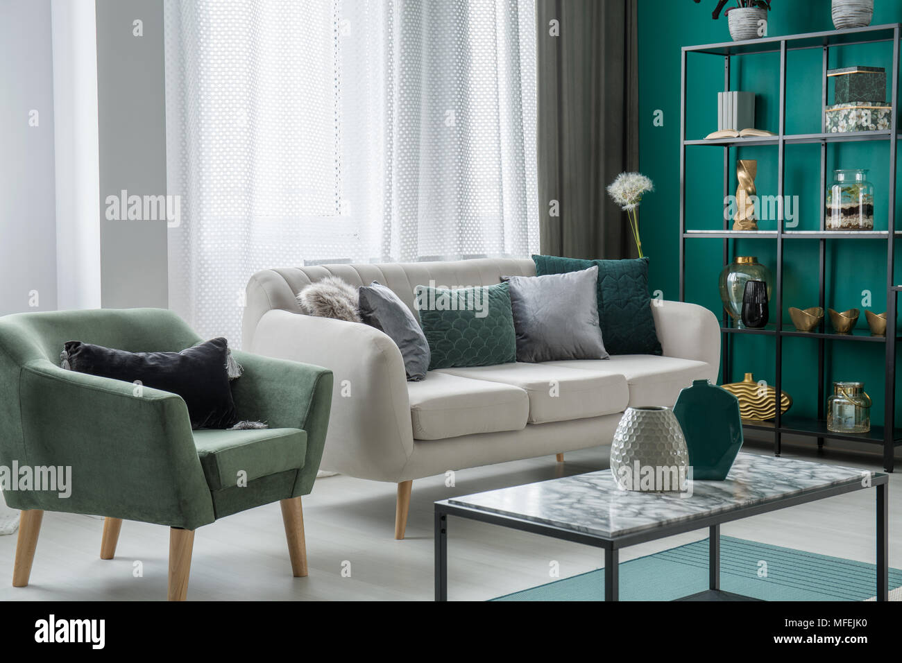 Amazing Green And Silver Decorative Pillows Placed On A Light Grey Andrewgaddart Wooden Chair Designs For Living Room Andrewgaddartcom