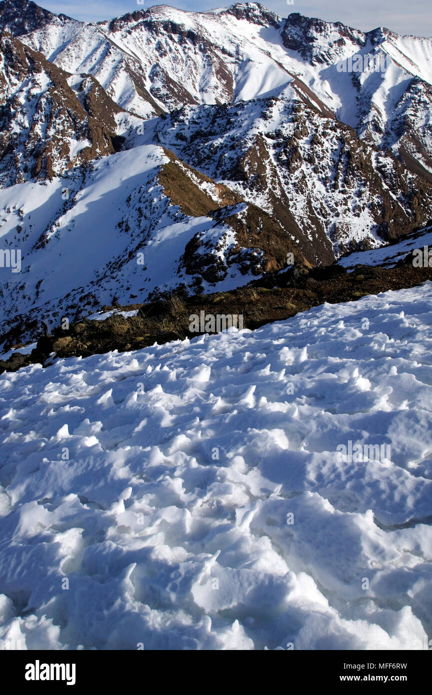 Snow in the High Atlas