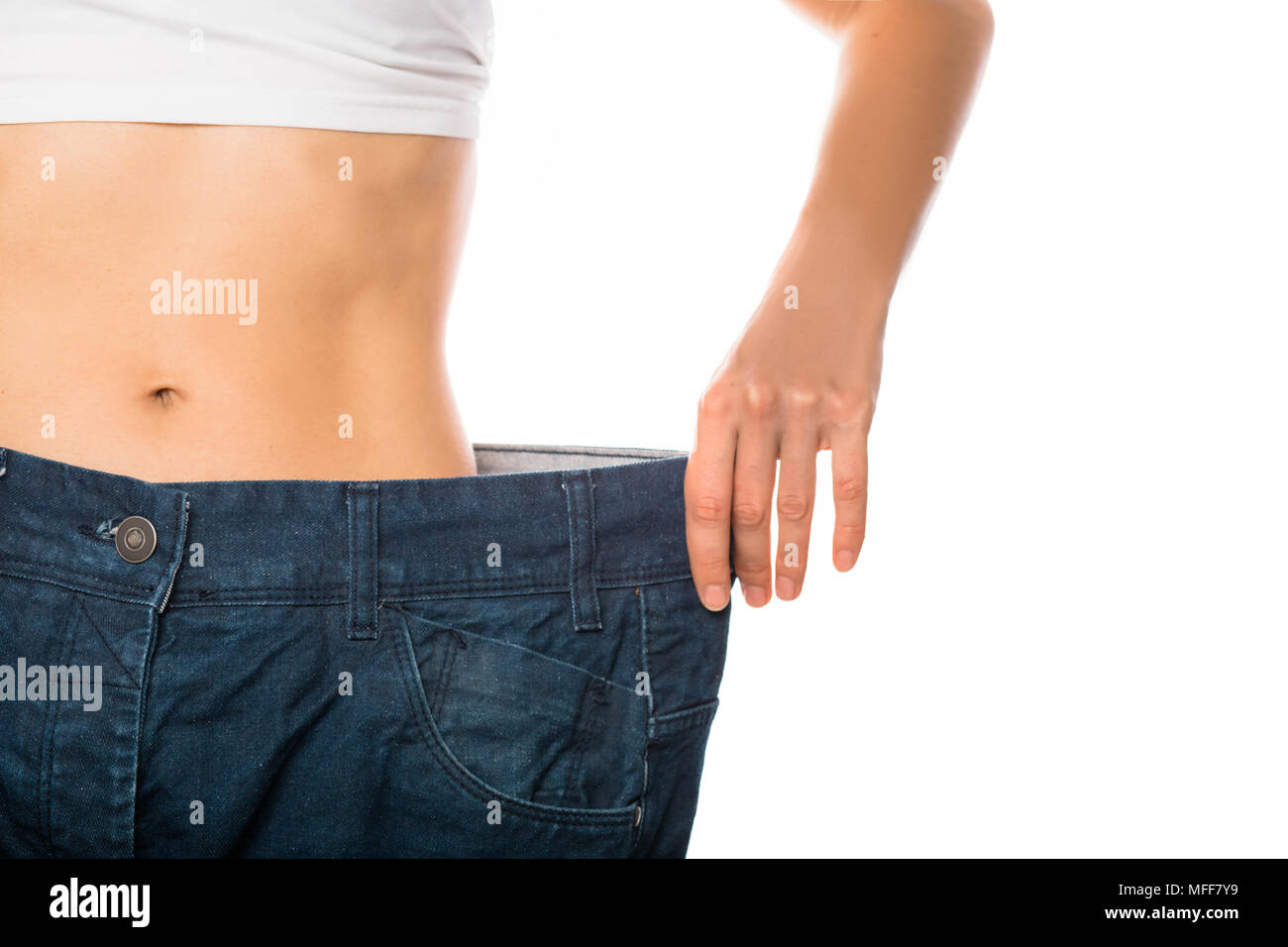 Weight loss and slimming - Stock Image