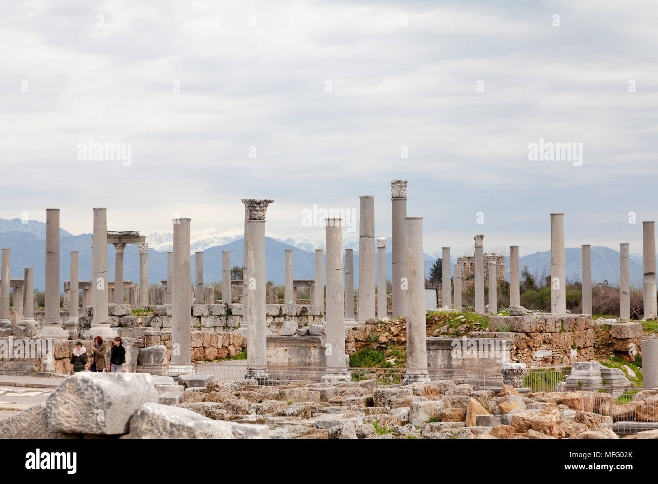 Turkey - Perge Ancient City. Perge was once the capital city of the ...