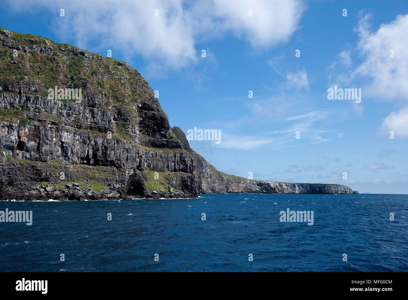 Panoramic view of Wolf island, Galapagos Islands, UNESCO Natural ...