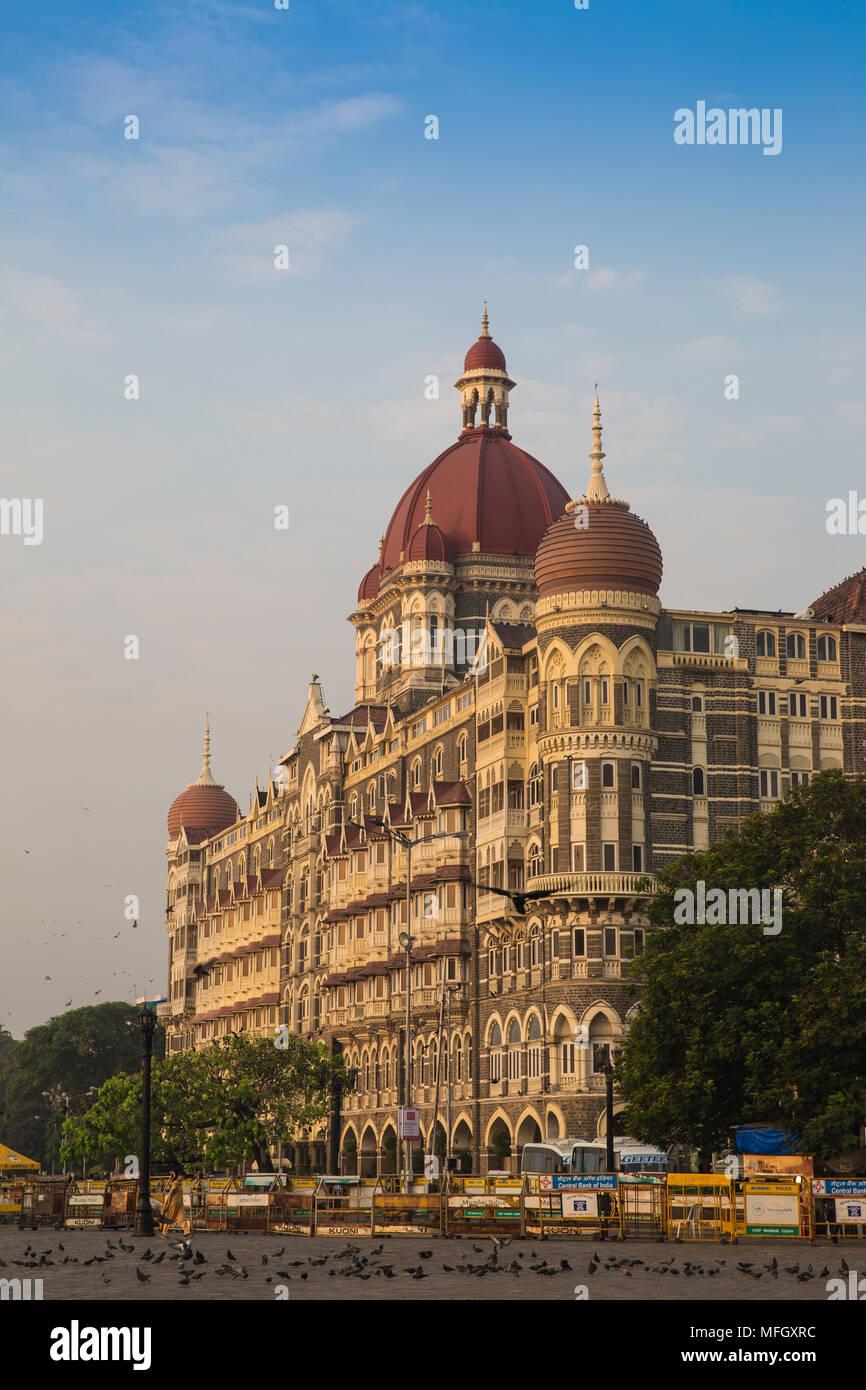 Taj Mahal Palace Hotel, Mumbai, Maharashtra, India, Asia - Stock Image