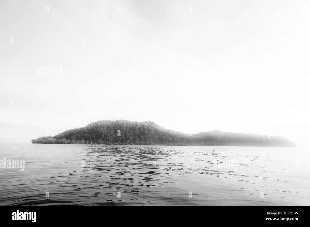 Inhabited island. Indonesia - Stock Image