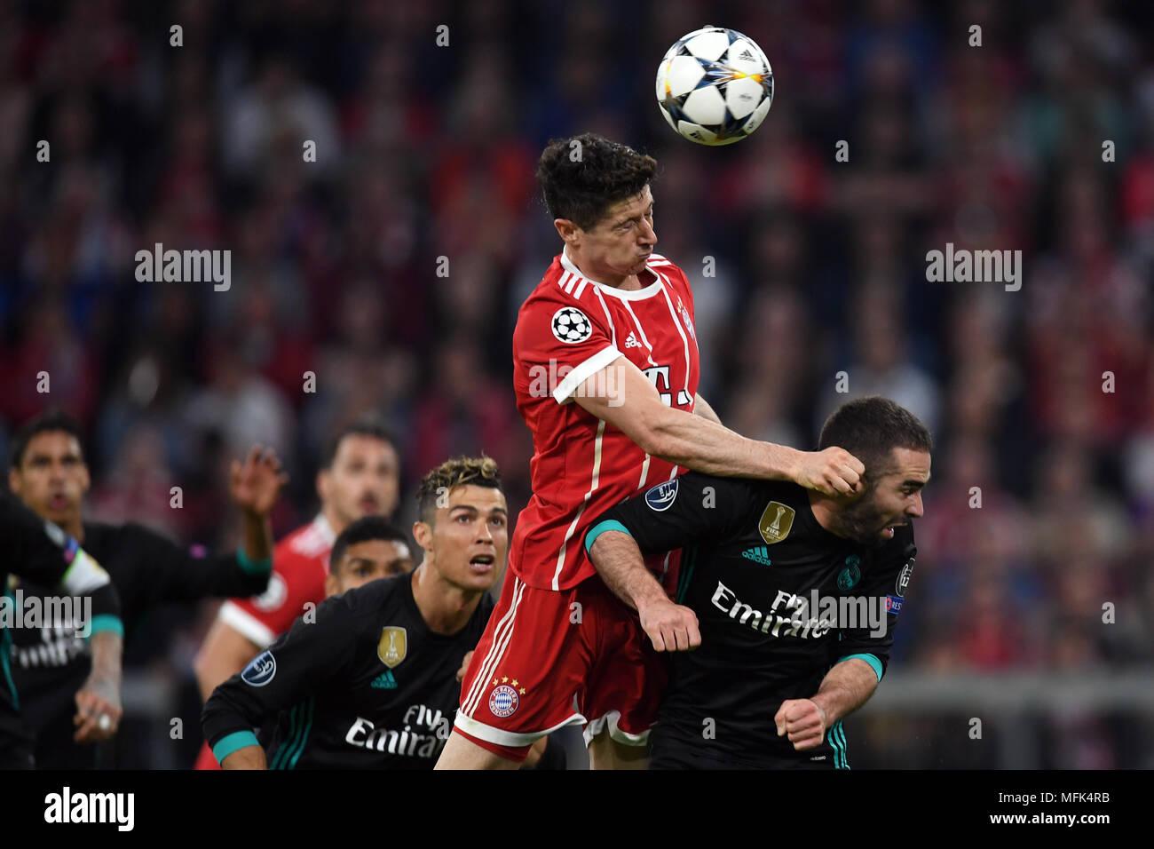 9fa245c82 25 april 2018, germany, munich: soccer, champions league, knockout