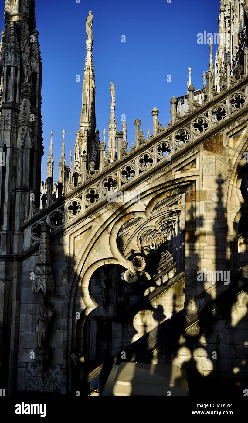 Tramonto Sul Duomo E Particolari Nuovo Orario Estivo Per