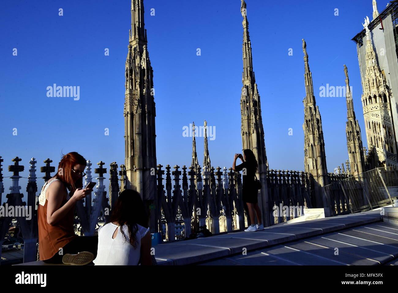 Tramonto Sul Duomo Nuovo Orario Estivo Per Visitare La