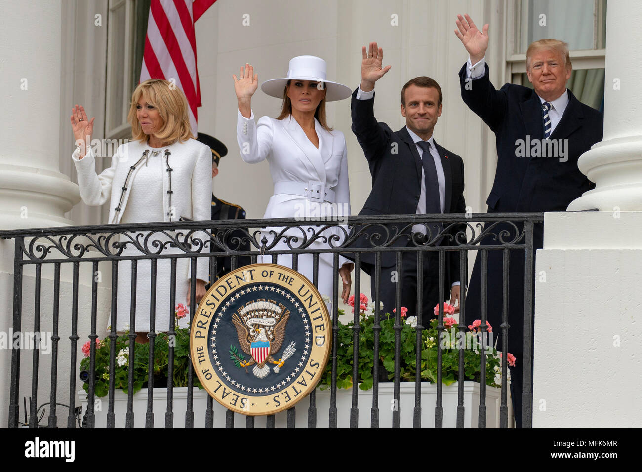 Washington, USA. 24th Apr, 2018. United States President Donald J ...