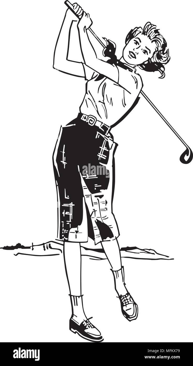 Lady Golfer Silhouette Clipart - Clipart Kid   Women golfers, Golfer, Gifts