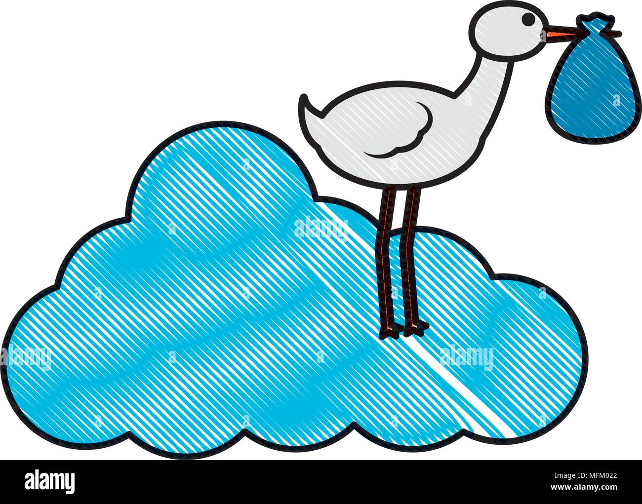 stork carrying baby stock photos amp stork carrying baby
