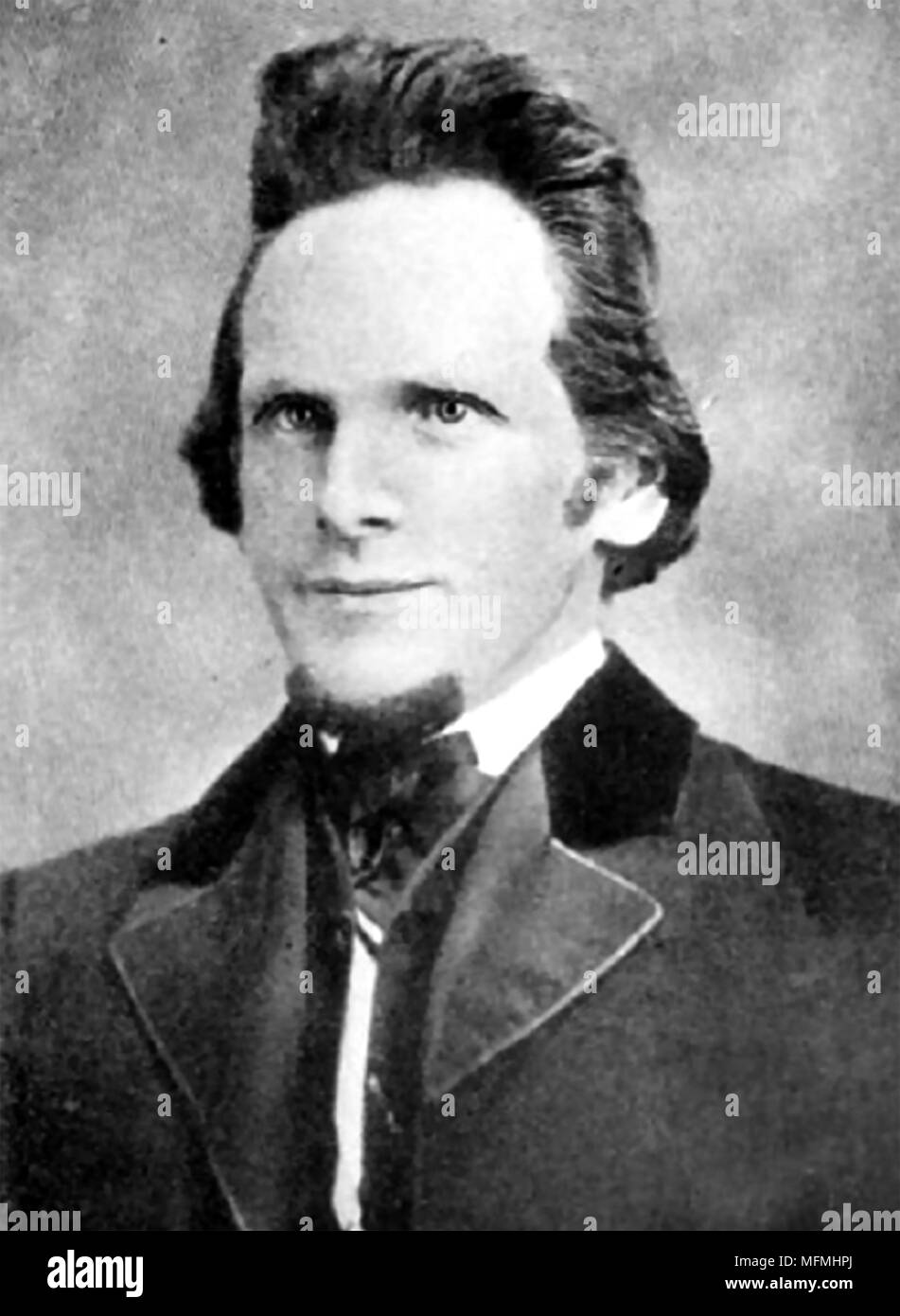 ASA GILBERT EDDY (1826-1882) third husband of Mary Baker Eddy - Stock Image