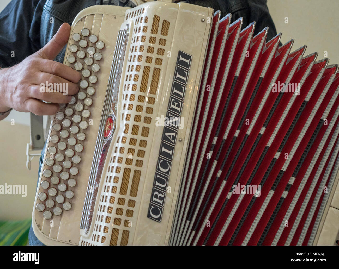 Accordion Players Stock Photos & Accordion Players Stock