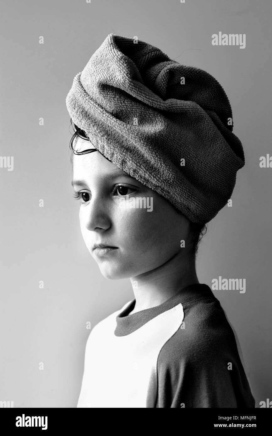 Portrait of a boy. - Stock Image