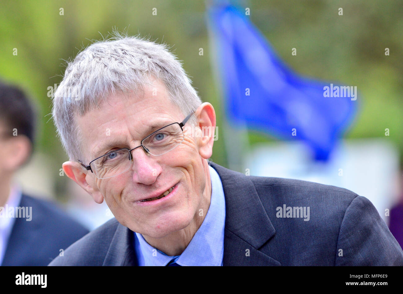 Simon Calder - travel writer and broadcaster - Stock Image