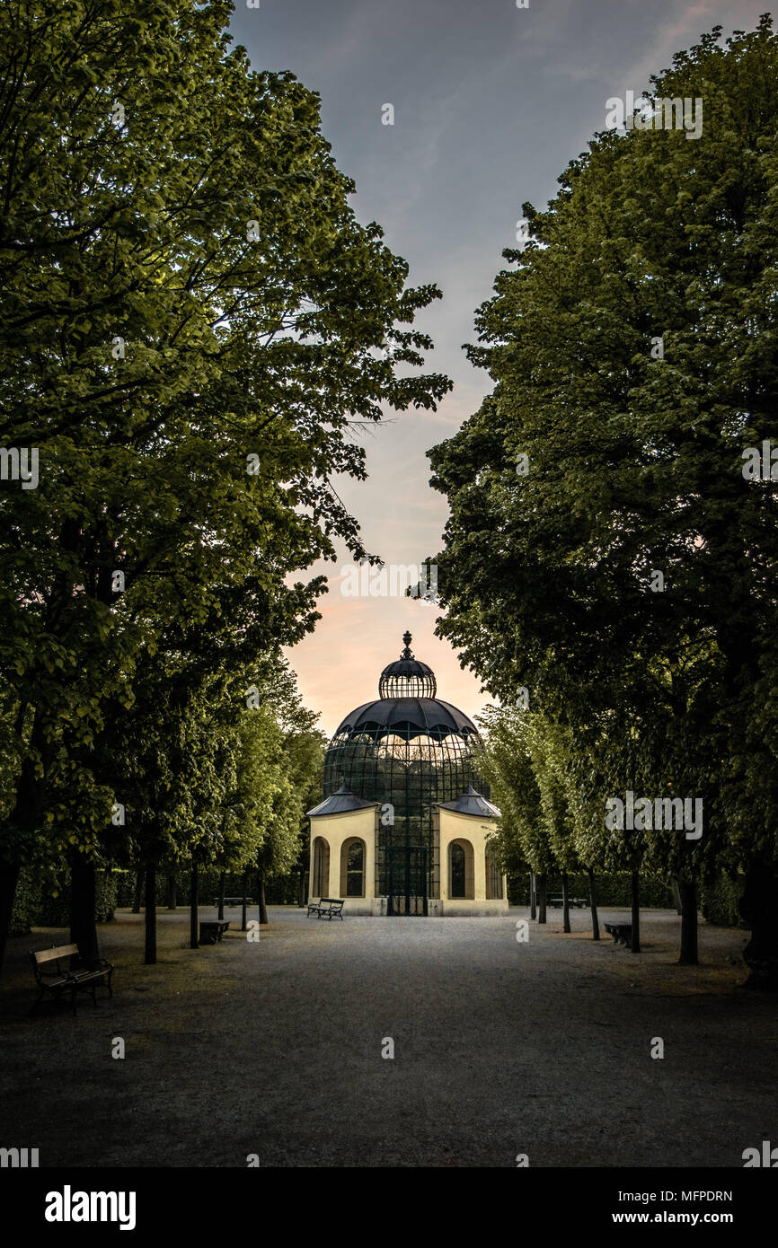 Schonbrunn Stock Photo