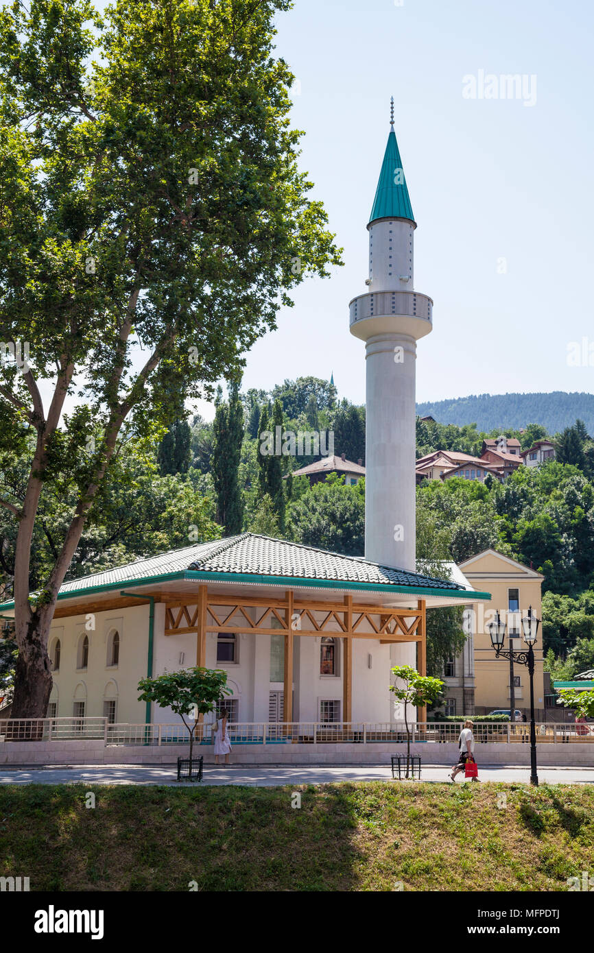 A mosque in the centre of Sarajevo, Bosnia and Herzegovina - Stock Image
