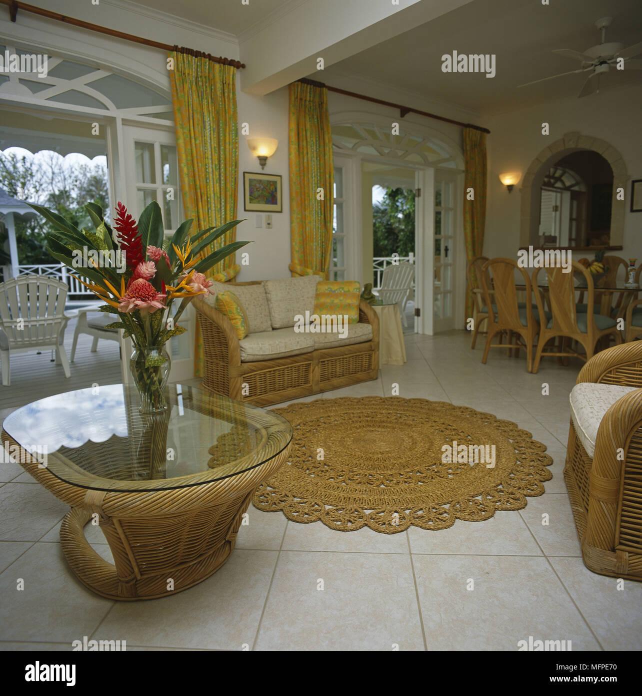 Fleur Pour Decoration Salon cane plan stock photos & cane plan stock images - alamy
