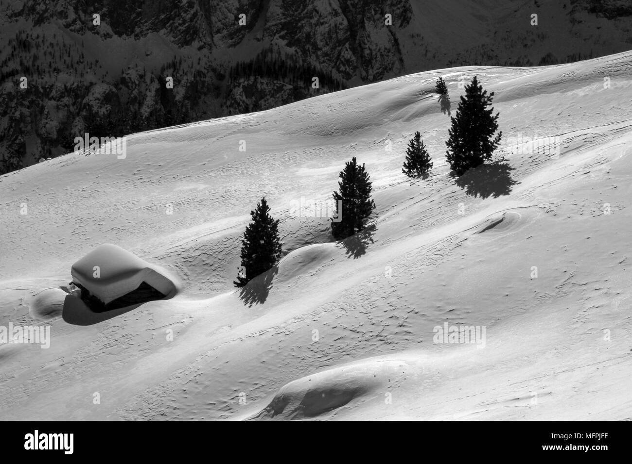 Mountain House - Stock Image