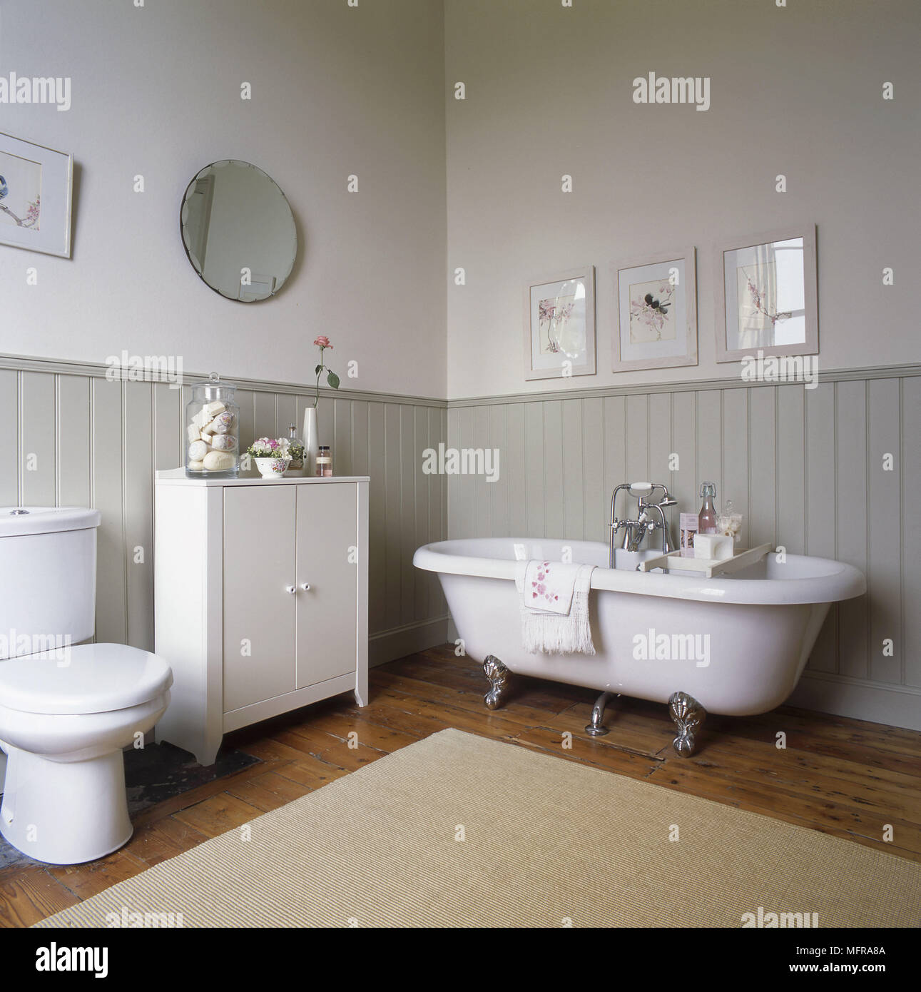 Country Style Bathroom High Resolution Stock Photography And Images Alamy