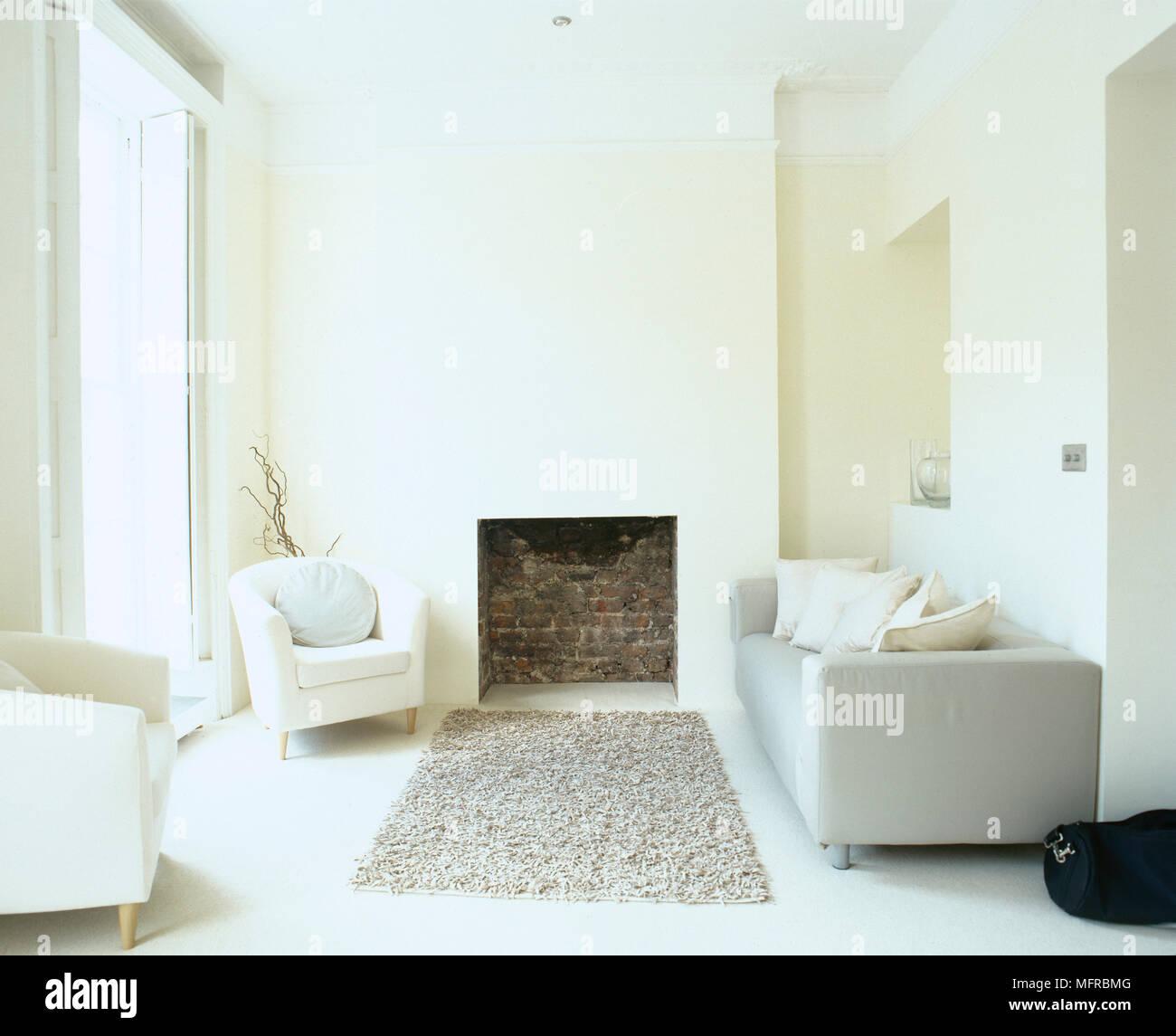 Furniture Fireplace Monochromatic Stock Photos & Furniture Fireplace ...