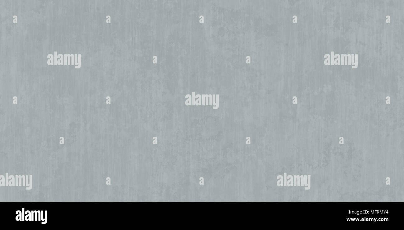Clear Grey Seamless Smooth Concrete Background. Polished Urban Cement Wall Texture. - Stock Image