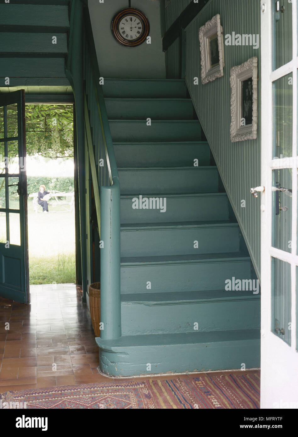 Painted Staircase Stock Photos Painted Staircase Stock Images Alamy