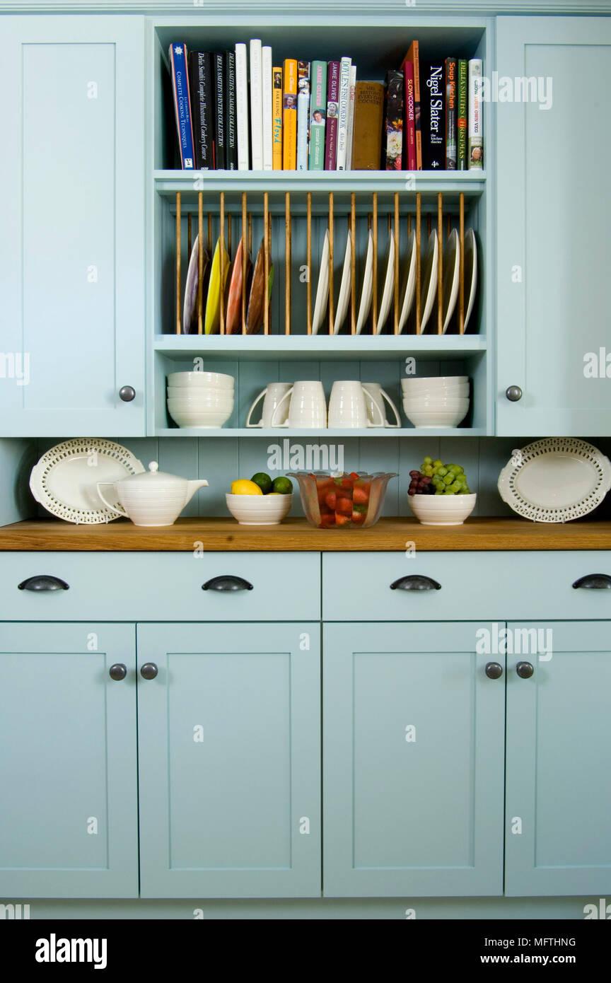 Blue Cupboard Storage Stock Photos & Blue Cupboard Storage Stock ...