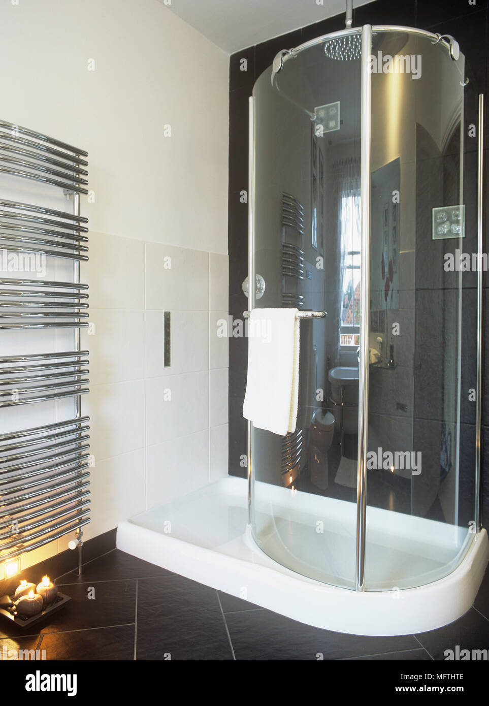 Heated Towel Rail Stock Photos & Heated Towel Rail Stock Images - Alamy