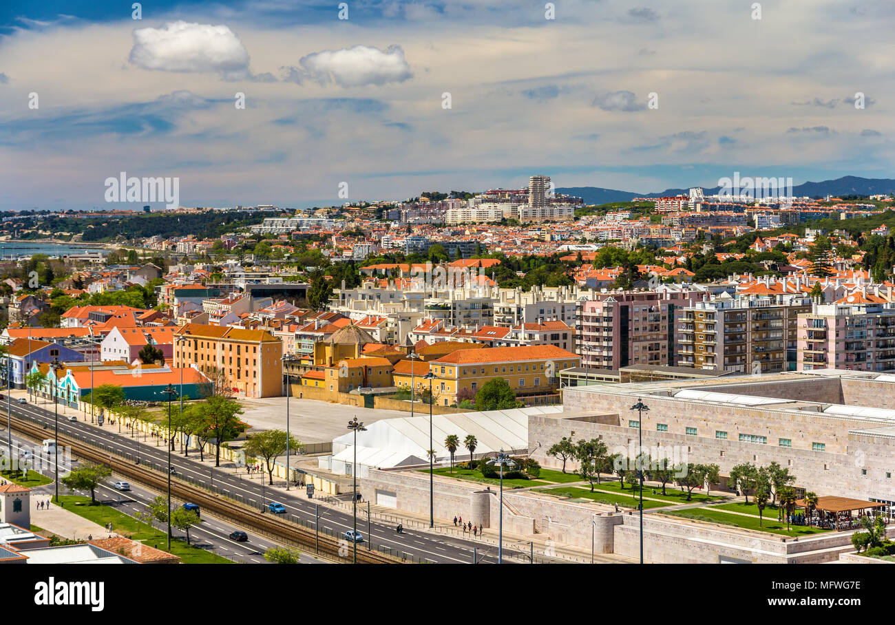 View of Lisbon - Portugal Stock Photo
