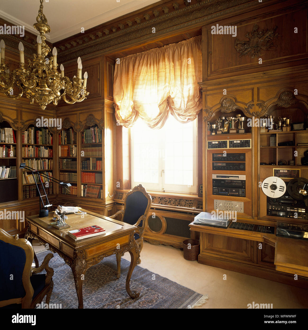 eclectic home office. View Of An Eclectic Home Office W