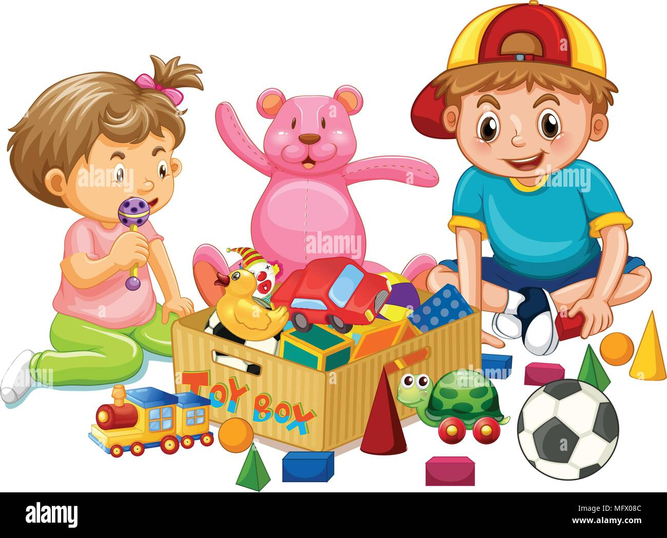 Brother and Sister Clip Art 1 - Free Clip Art