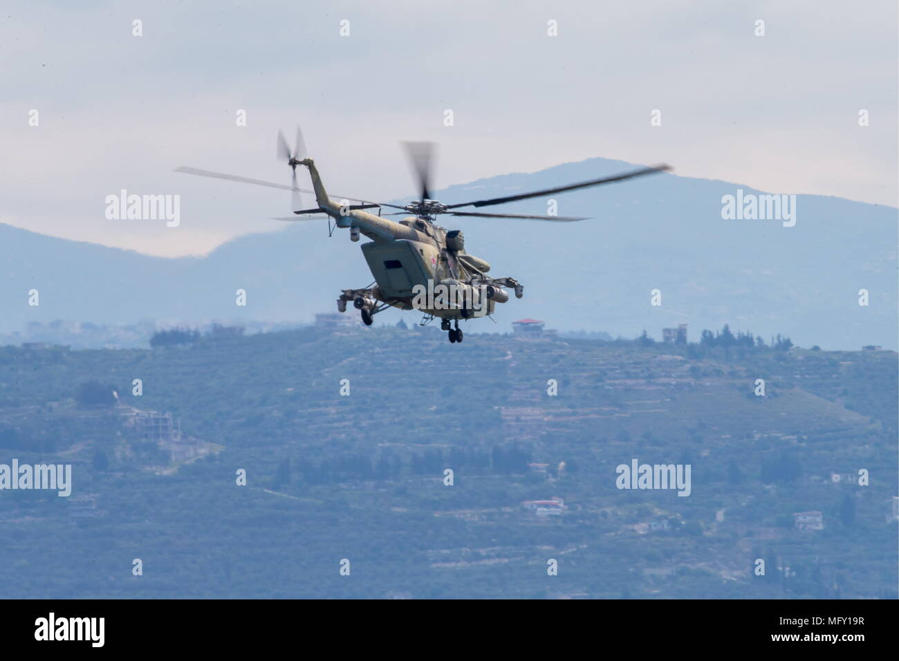 Mi-8AMTSH - Terminator from Russia 27
