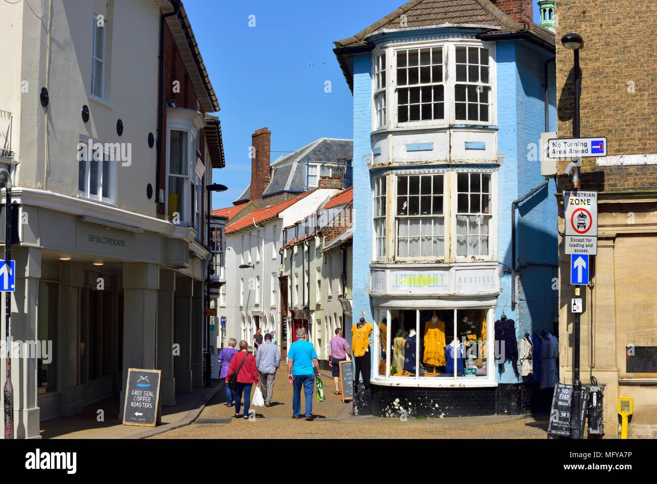 Jetty Street Cromer North Norfolk England Uk Stock Photo