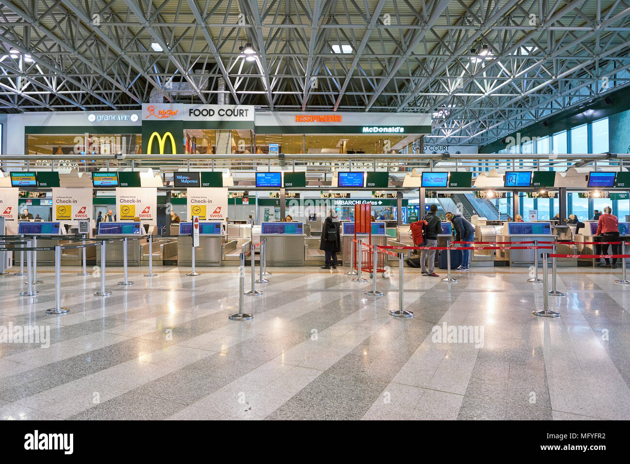 Milan Airport High Resolution Stock Photography And Images Alamy