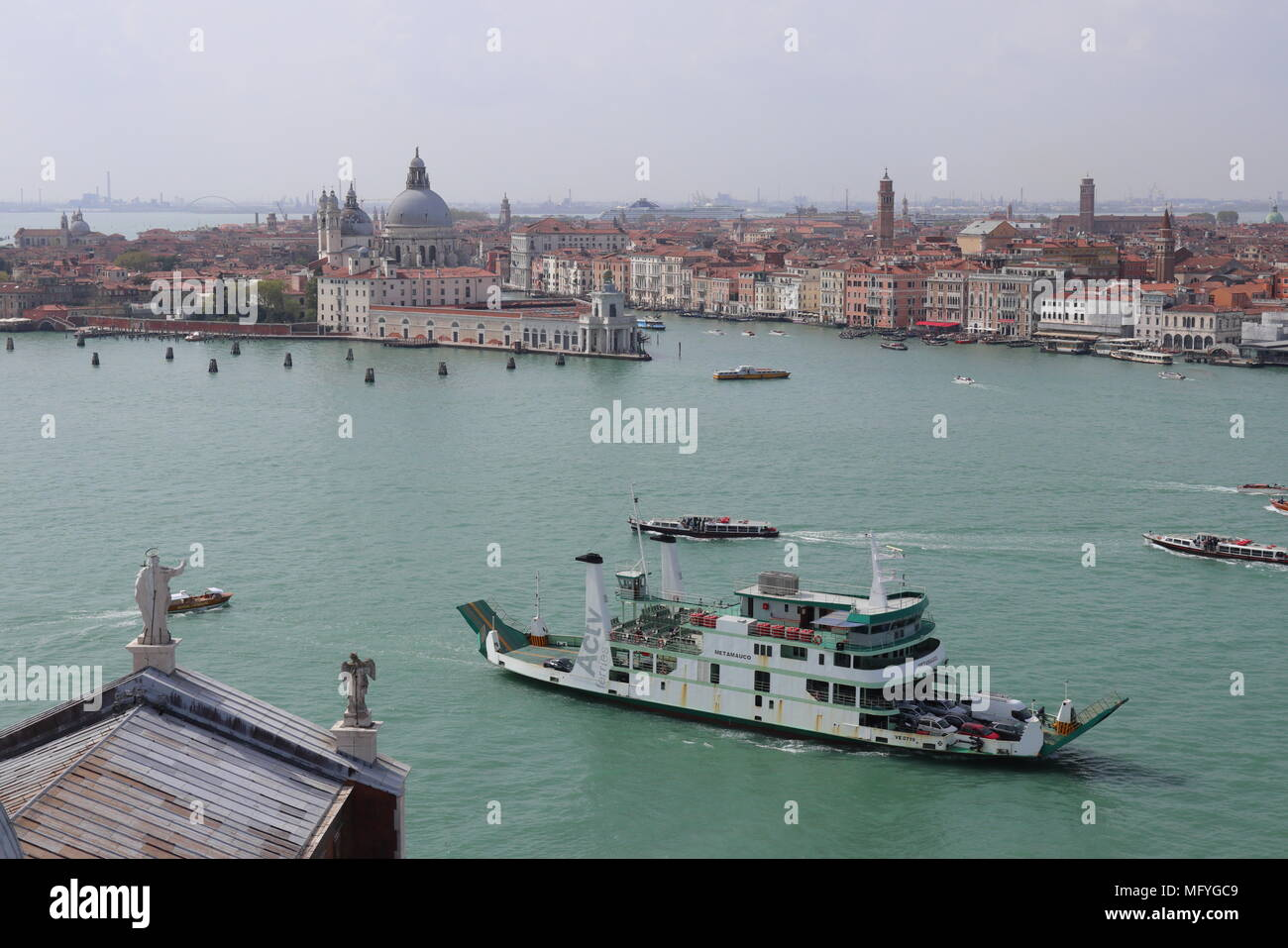 Venice Car Ferry Stock Photos & Venice Car Ferry Stock Images - Alamy