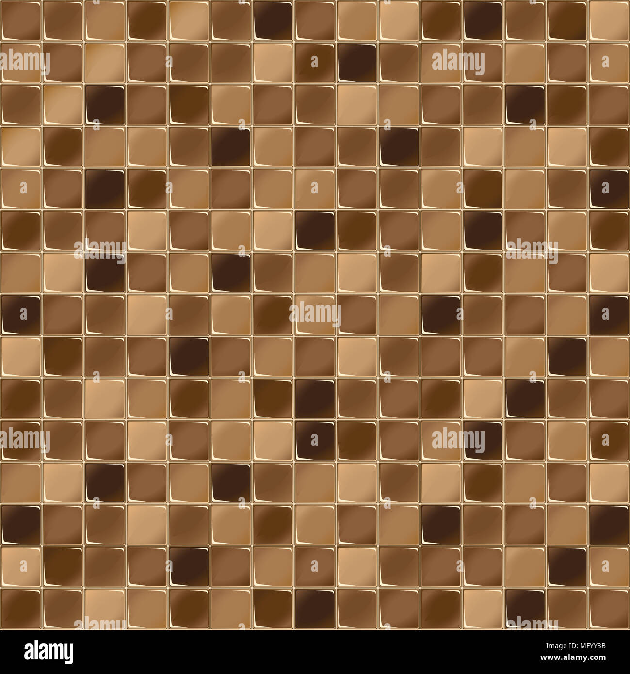 Mosaic Tiles For Bathroom And Spa Seamless Background Tile