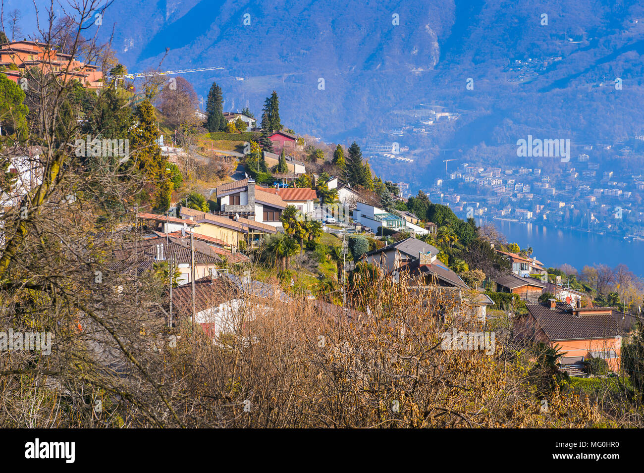 Lugano Old Town Stock Photos Lugano Old Town Stock Images Alamy