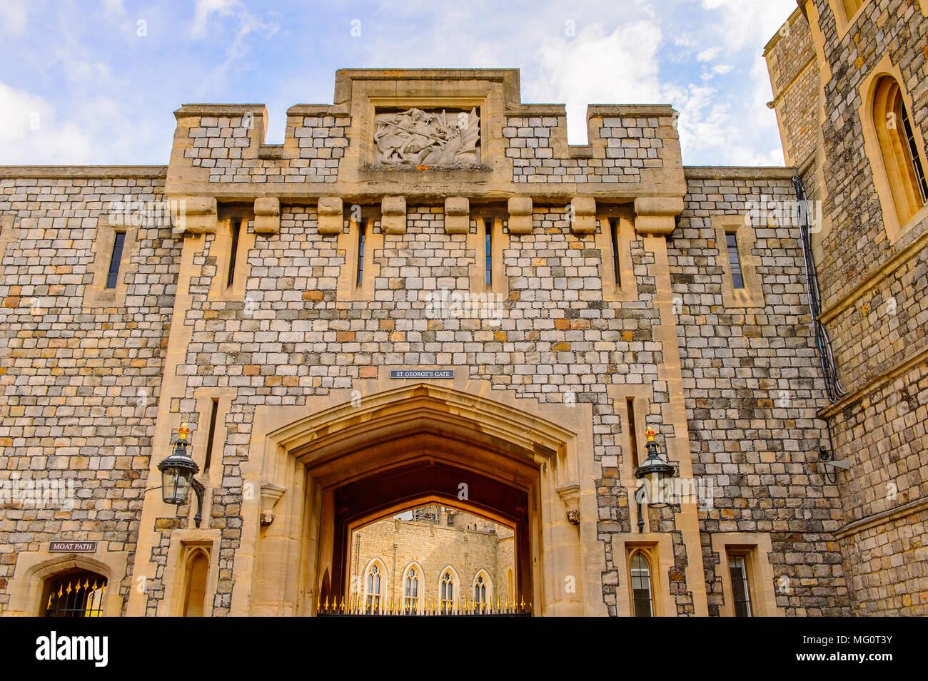 Windsor Castle Garden Stock Photos & Windsor Castle Garden Stock ...