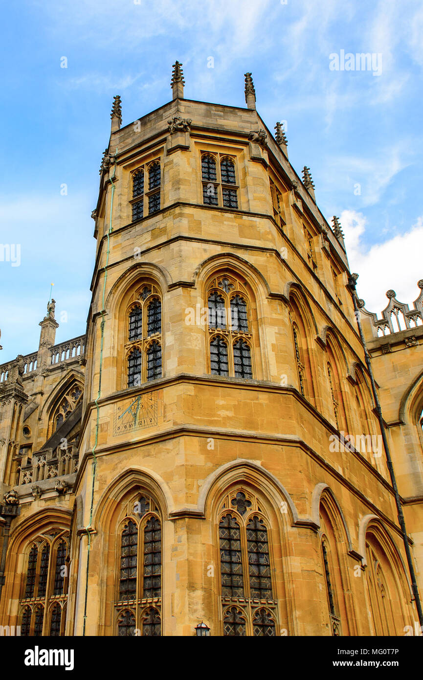St George's Chapel, Lower Ward, Windsor Castle, Berkshire, England. Official Residence of Her Majesty The Queen - Stock Image