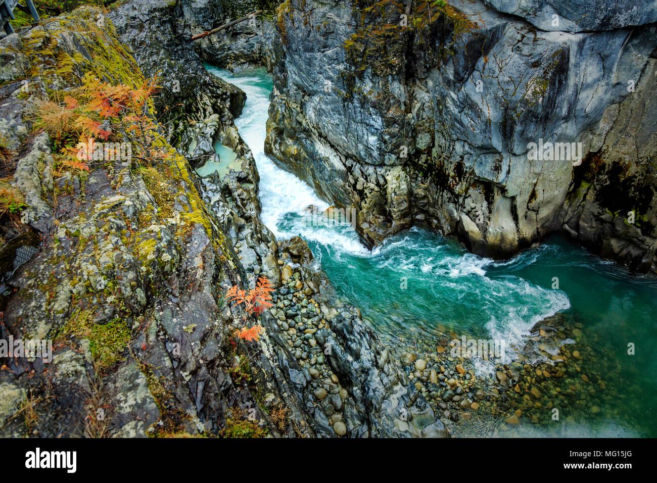 Nairn Falls Provincial Park - Stock Image